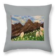 Bear Grass Bloom 2017 Throw Pillow