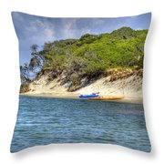 Bear Island Throw Pillow