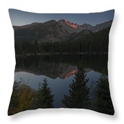 Bear Lake Throw Pillow