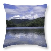 Bear Lake North Carolina Throw Pillow