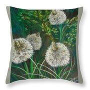 Bear Paw Grass Throw Pillow