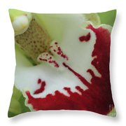 Bearded Tongue Throw Pillow