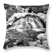 Bear's Den Waterfall Throw Pillow