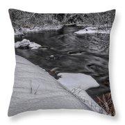 Bearskin Creek Riffles Throw Pillow