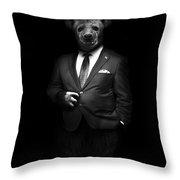 Beast For President Throw Pillow