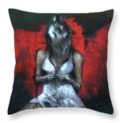Beast II Throw Pillow