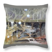 Beata's Destiny Throw Pillow