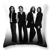 Beatles 1968 Throw Pillow
