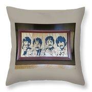 Beatles Sgt Pepper Throw Pillow