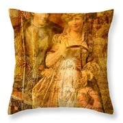 Beatrice And Benedick Throw Pillow