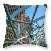Beatrix Kwartier Throw Pillow