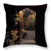 Beaulieu House & Gardens, Co Louth Throw Pillow