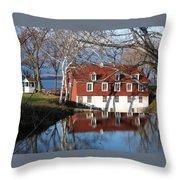 Beaumont Quebec Canada Throw Pillow