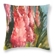Beauties - Note Card Throw Pillow