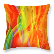 Beauties 2 Throw Pillow