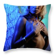 Beautiful Angel Throw Pillow
