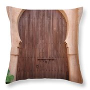 Beautiful Arched Doors Throw Pillow