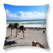 Beautiful Atlantic  Throw Pillow
