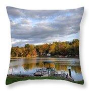 Beautiful Autumnv3 Throw Pillow