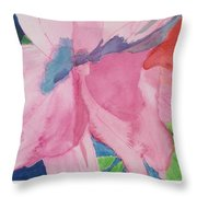 Beautiful Azalea Throw Pillow