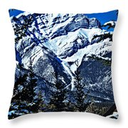 Beautiful Banff Throw Pillow
