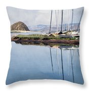 Beautiful Bay Throw Pillow