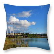 Beautiful Bend Throw Pillow