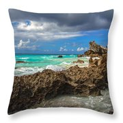 Beautiful Bermuda Throw Pillow