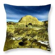 Beautiful Bisti Wilderness Throw Pillow