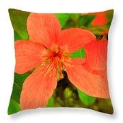 Beautiful Blossom Throw Pillow