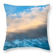 Beautiful Blue Skies Throw Pillow