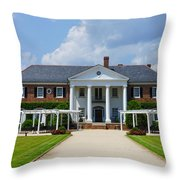 Beautiful Boone Hall Plantation Throw Pillow