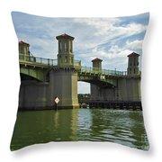 Beautiful Bridge Of Lions Throw Pillow