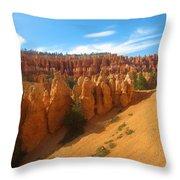 Beautiful Bryce Canyon Throw Pillow