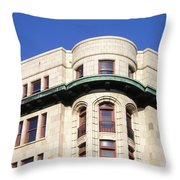 Beautiful Buildings Of Victoria 1 Throw Pillow