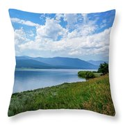 Beautiful Calm Waters Throw Pillow