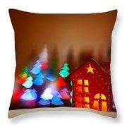 Beautiful Christmas Decor Throw Pillow