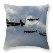 Beautiful Classics In Formation Throw Pillow