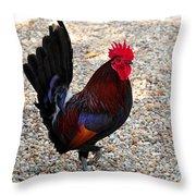 Beautiful Cock  Throw Pillow