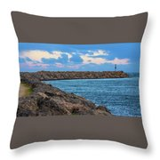 Beautiful Day Out Throw Pillow