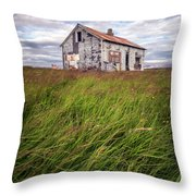 Beautiful Disaster Throw Pillow
