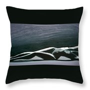 Beautiful Diver Throw Pillow