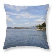 Beautiful Dubrovnik Throw Pillow