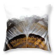 Beautiful Feather Throw Pillow