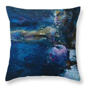 Beautiful Fighter Throw Pillow