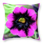 Beautiful Flower Throw Pillow by Annette Allman