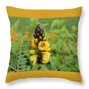 Beautiful Flower Throw Pillow