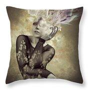 Beautiful Freak Throw Pillow