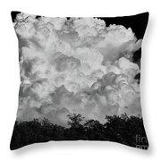 Beautiful Full Cloud Throw Pillow