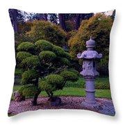 Beautiful Gardens Throw Pillow